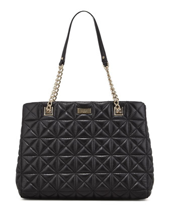 sedgwick place phoebe tote bag, black