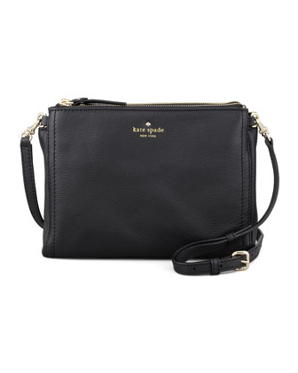 cobble hill lilibeth crossbody bag, black