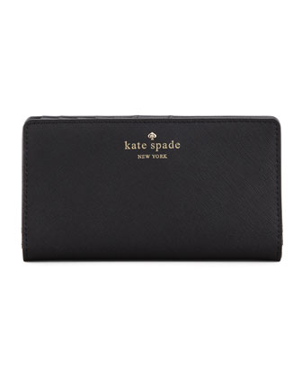 cherry lane stacy wallet, black