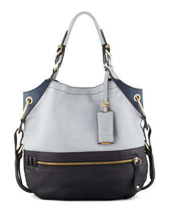 Sydney Colorblock Tote Bag, Multi Color