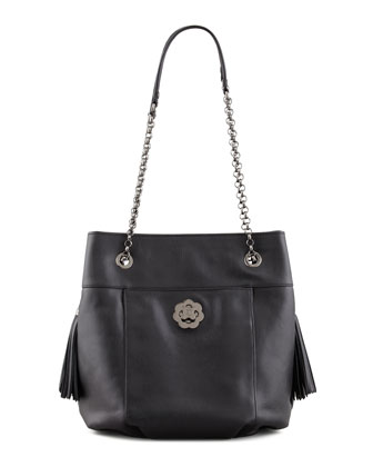 Tina Shoulder Bag, Black
