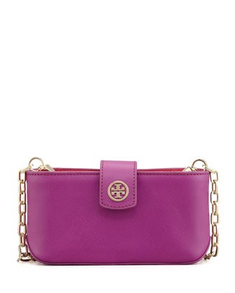 Robinson Smart Phone Crossbody Bag, Fuchsia