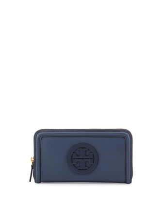 Amanda Zip-Closure Continental Wallet, Night Sky