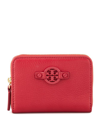 Amanda Zip Coin Case, Gooseberry