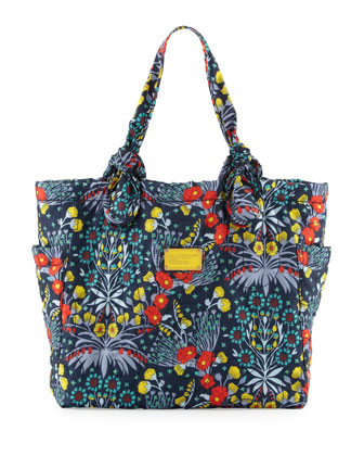 Pretty Nylon Maddy Botanical Tote Bag, Multi