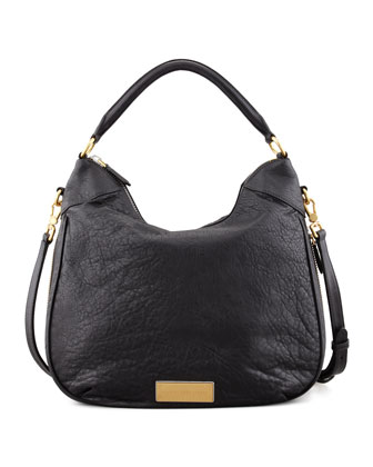 Washed Up Billy Hobo Bag, Black