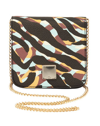 Tina Mini Camo Crossbody Bag