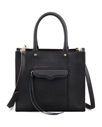 MAB Mini Tote Bag, Black