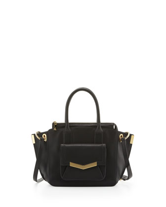 Jo Mini Luggage Tote Bag, Black