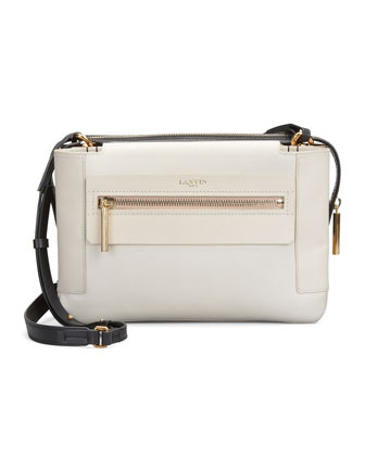 Le Jour Medium Shoulder Bag, Ivory