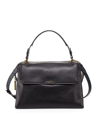 Padam Satchel Bag, Black