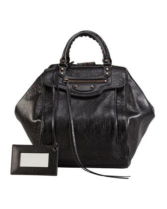 Classic Zip Traveler Backpack, Black