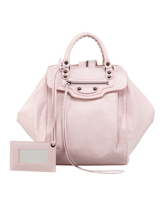 Classic Zip Traveler Backpack, Rose