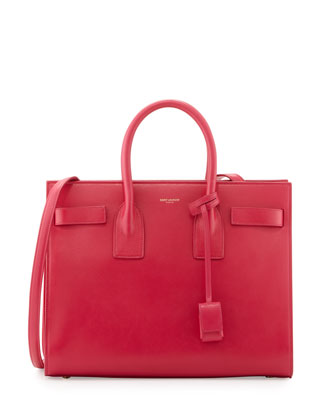 Sac de Jour Small Carryall Bag, Fuchsia