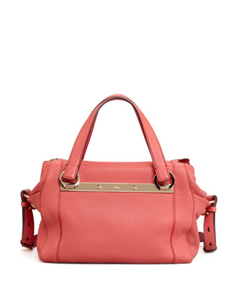 Bridget Small Shoulder Bag, Pink