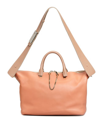 Baylee Shoulder Bag, Light Red/Brown