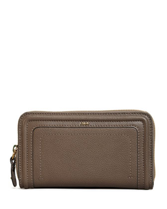 Paraty Long Zip Wallet, Rock