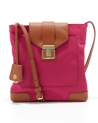 Penn Swingpack Bag, Pink/Brown