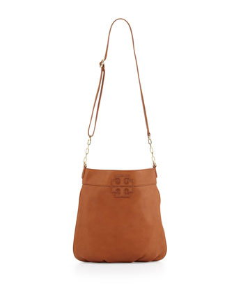 Stacked-T Book Bag, Tan