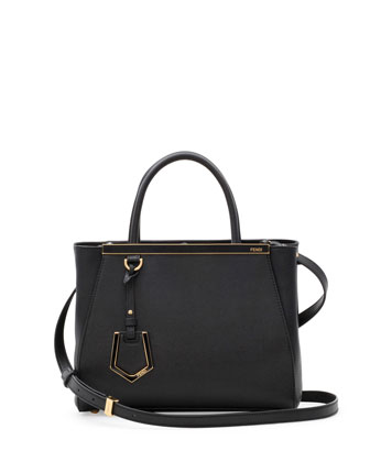 2Jours Mini Tote Bag, Black
