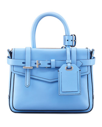 Boxer Micro Tote Bag, Blue