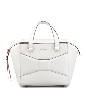 2 park avenue beau small shopper tote bag, cream