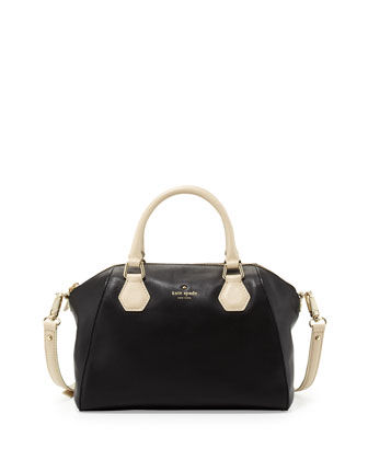 catherine street pippa satchel bag, black