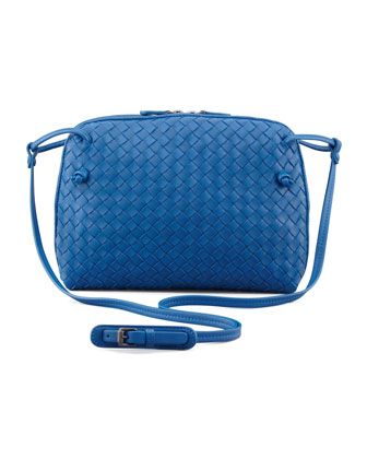 Veneta Small Messenger Bag, Blue