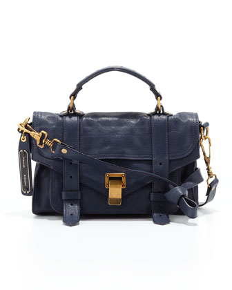 PS1 Mini Satchel Bag, Midnight