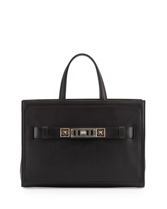 PS11 Zip Tote Bag, Black