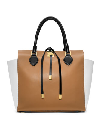 Large Miranda Colorblock Tote