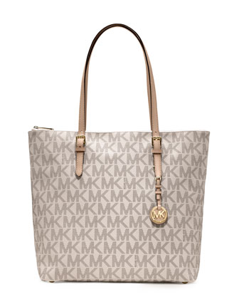 Large Jet Set Top-Zip Tote