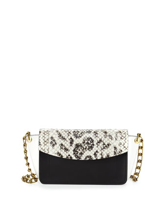 Ew Anarchy Anaconda Colorblock Shoulder Bag