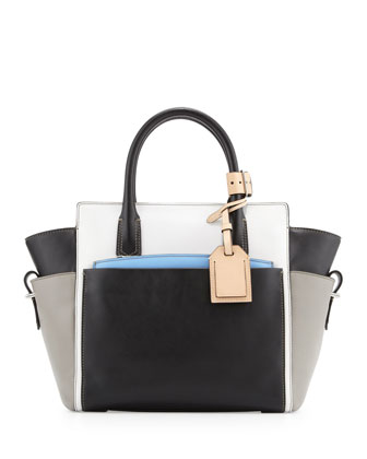 Atlantique Mini Colorblock Tote Bag