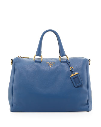 Daino Zip-Top Tote Bag, Blue