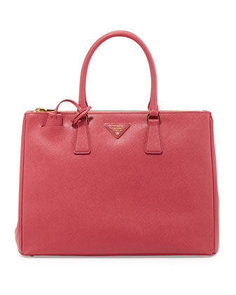 Saffiano Executive Tote Bag, Pink (Peonia)