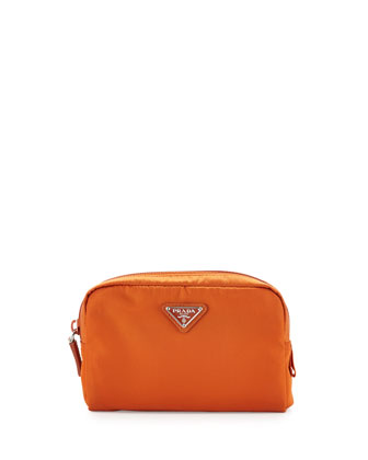 Vela Square Cosmetic Bag, Orange (Papaya)