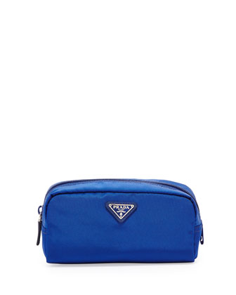 Vela Cosmetic Bag, Blue