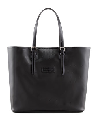 Derby V Large Tote Bag, Black