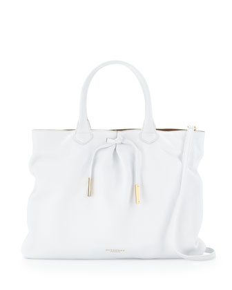 Burberry Prorsum Tote Bag, White