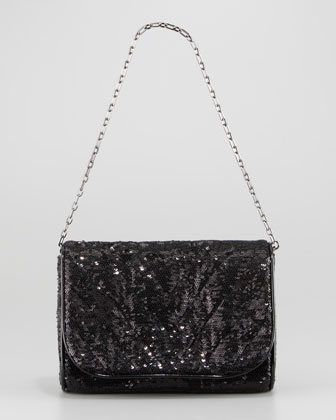 Quilt Jazz Sequined Bag