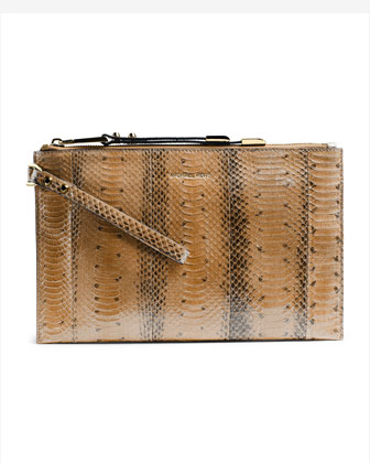 Large Miranda Zip Clutch