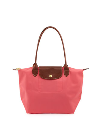 Le Pliage Medium Shoulder Tote Bag, Pink