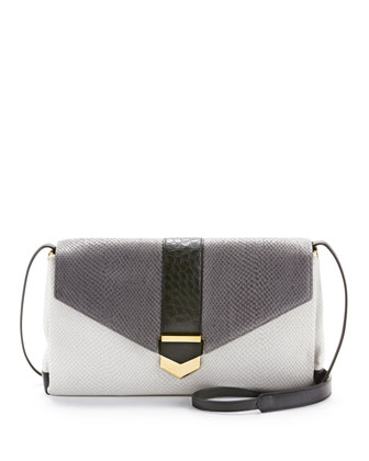 Orion Convertible Shoulder Bag, Dove Multi