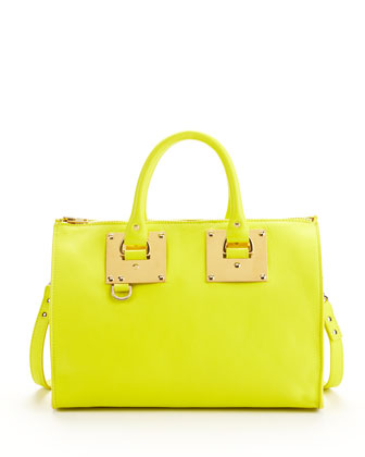 Mini Zip-Top Bowling Bag, Chartreuse