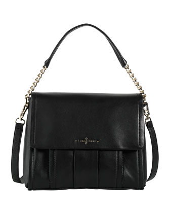 Ainsley Jenna Shoulder Bag, Black