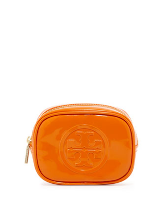 Small Classic Cosmetic Case, Orange