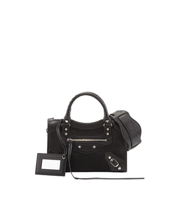Classic City Mini AJ Satchel, Black
