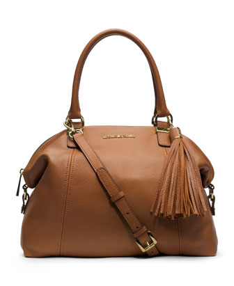 Large Camden Top-Zip Satchel