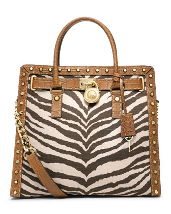 Large Hamilton Pickstitch Studded Tote